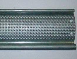 mikro delikli galveniz çelik profiller
