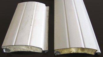 poliüretanlı alüminyum otomatik kepenk profilleri