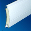 poliüretanlı alüminyum kepenk profili